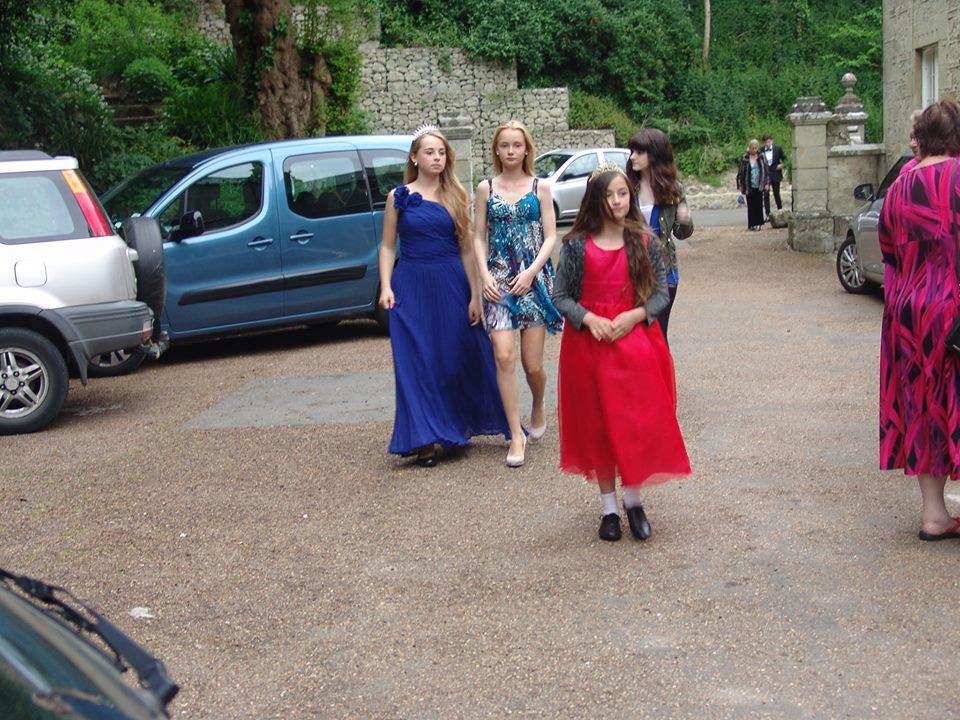 Guests arriving