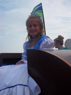 Sandown Carnival- Ventnor Junior Queen- Bailey