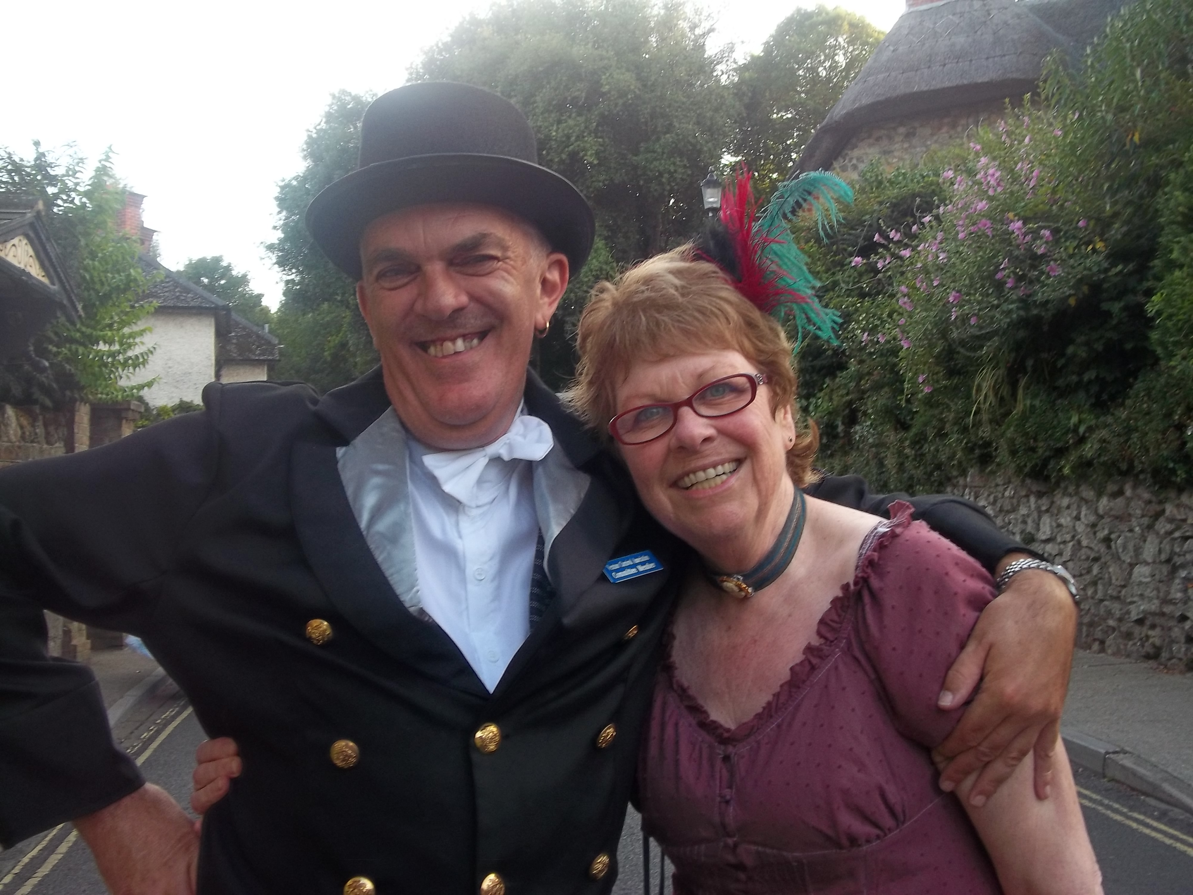 Shanklin Carnival- Ron and Janice.