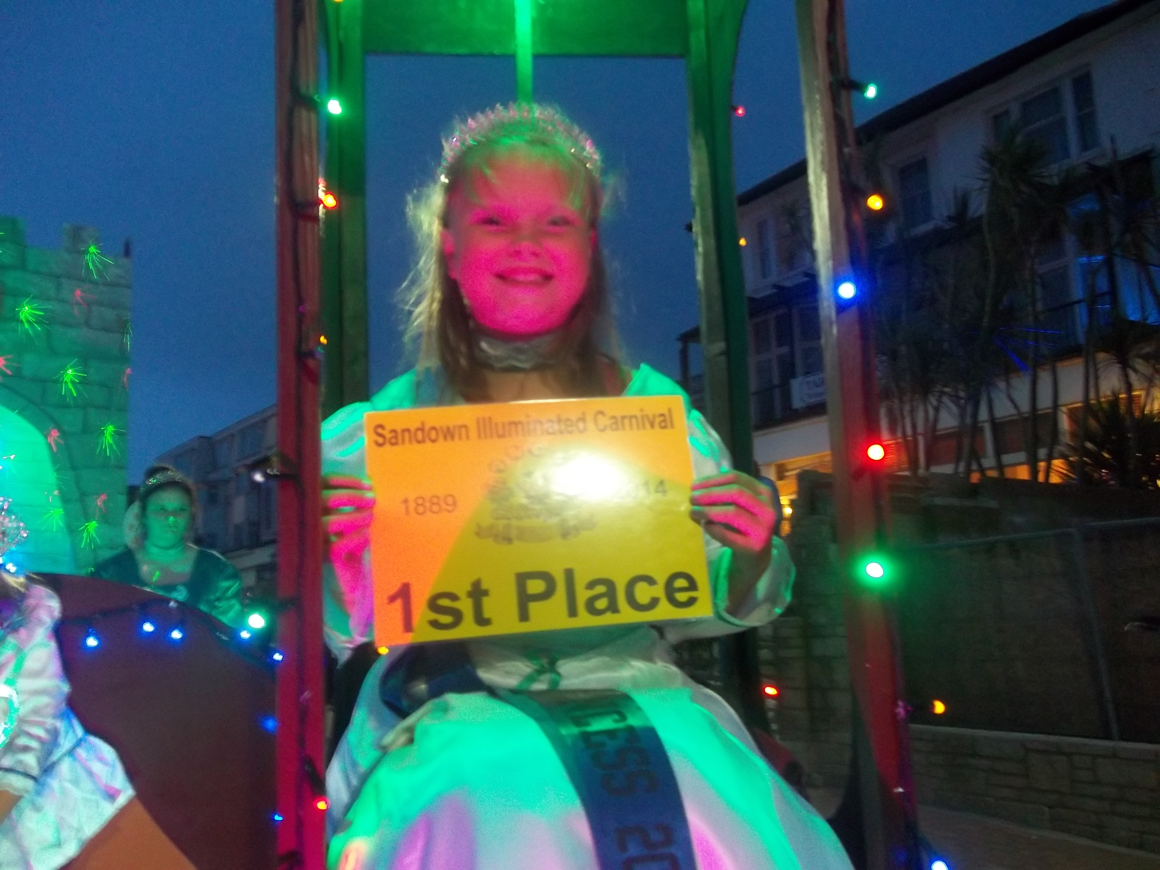 Sandown Illuminated- 1st Place certificate