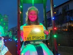 Sandown Illuminated- 1st Place certificate