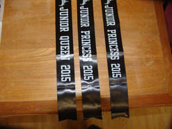 Junior Sashes