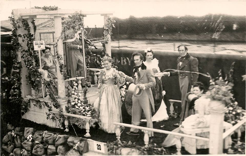 Sharpes of Ventnor float 1950 'Those Were the Days'.jpg