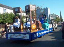 Ryde Carnival- Ventnor Queens float.