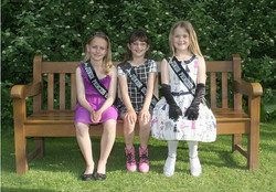 Junior Queen and Princesses