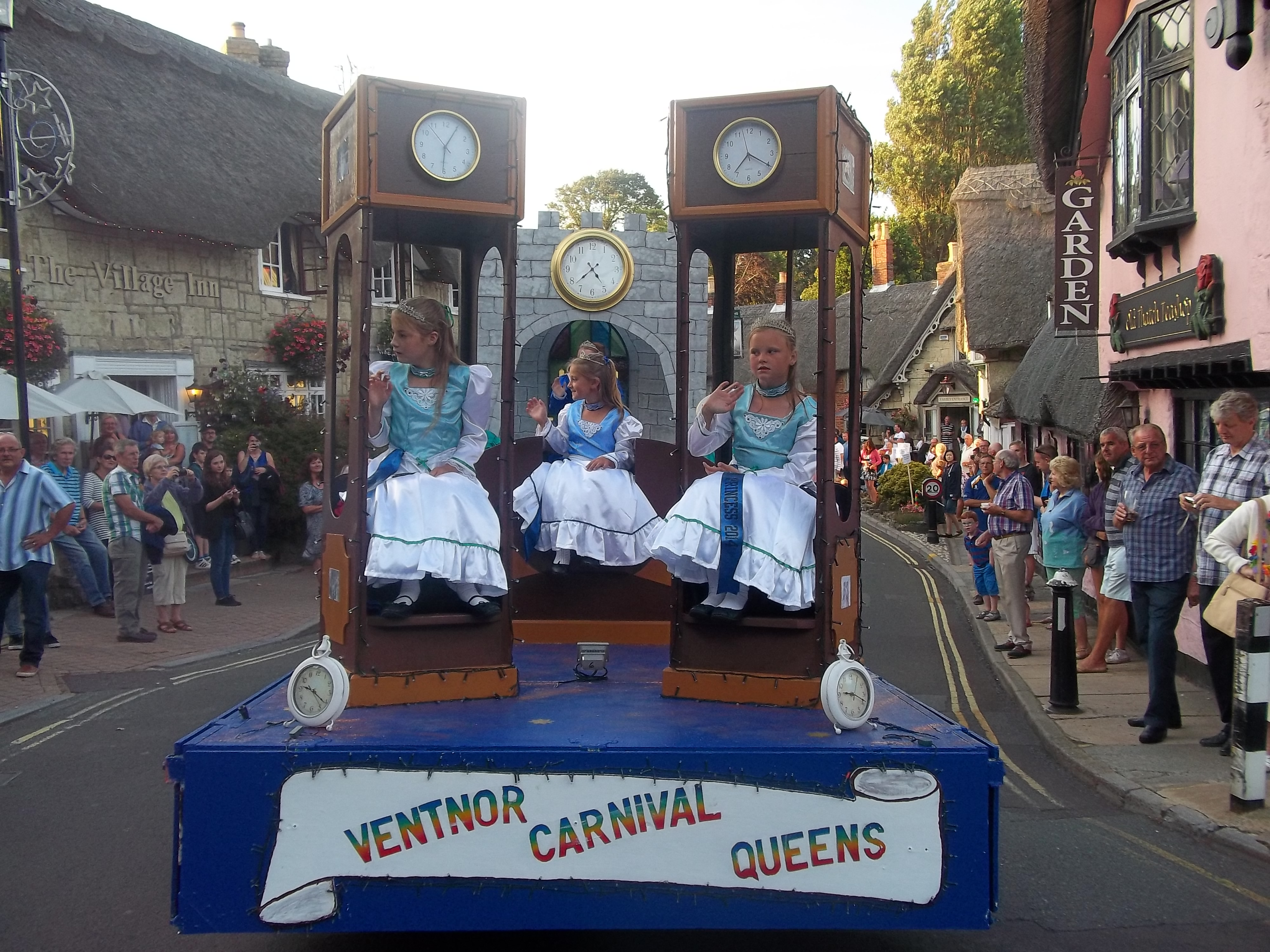 Shanklin Carnival- Ventnor Float