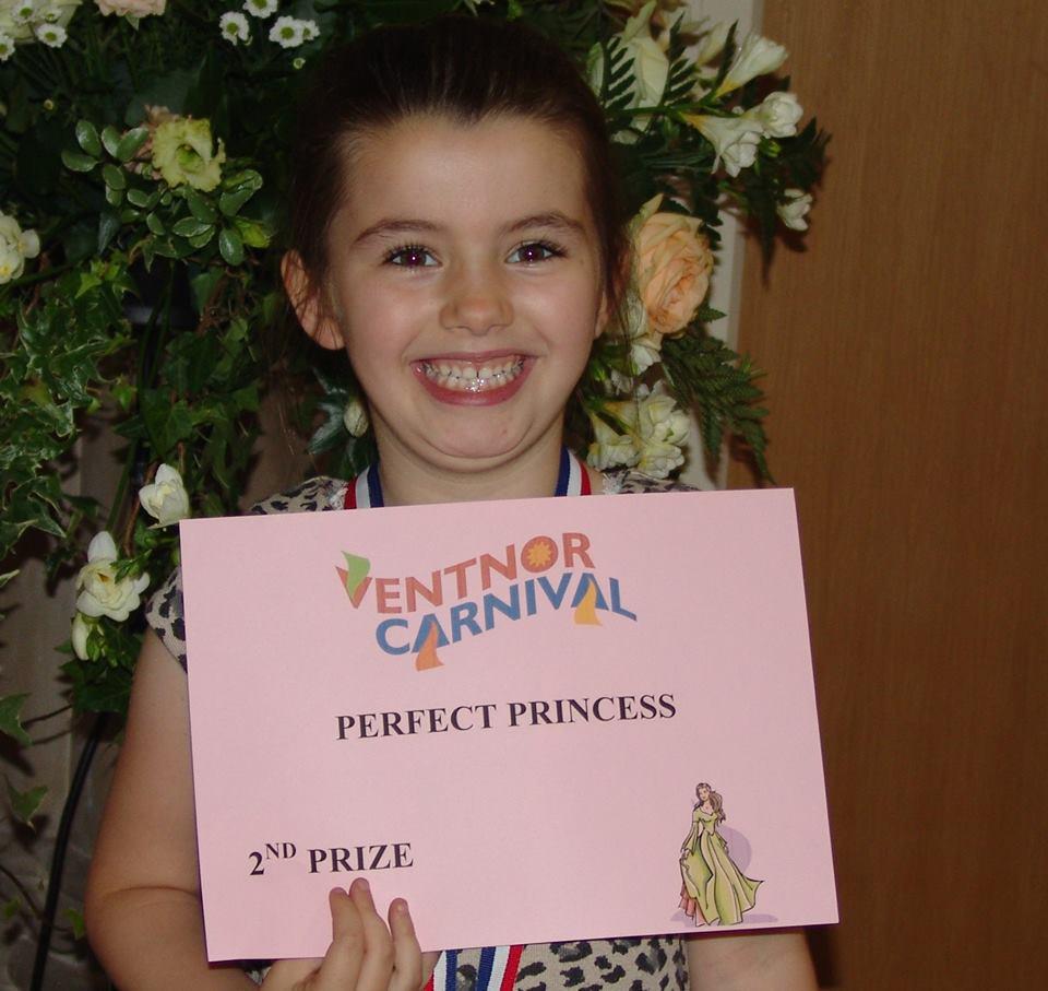 Perfect Princess 2nd Place