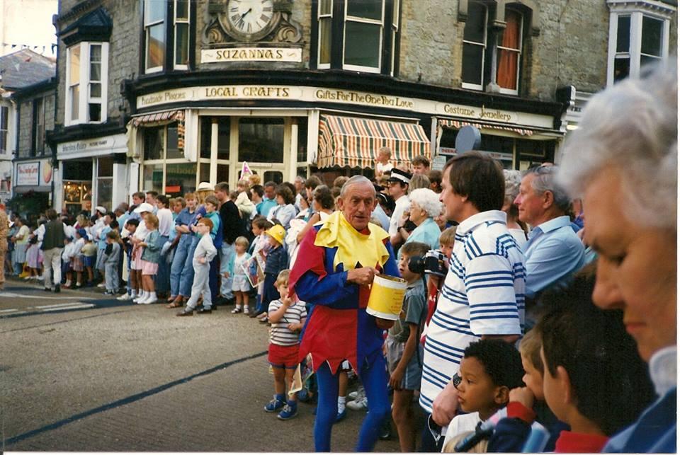 Ventnor Carnival 1988- George Channing 'Mr Carnival'