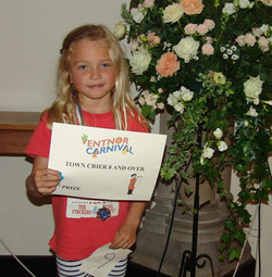 Senior Town Crier 3rd place