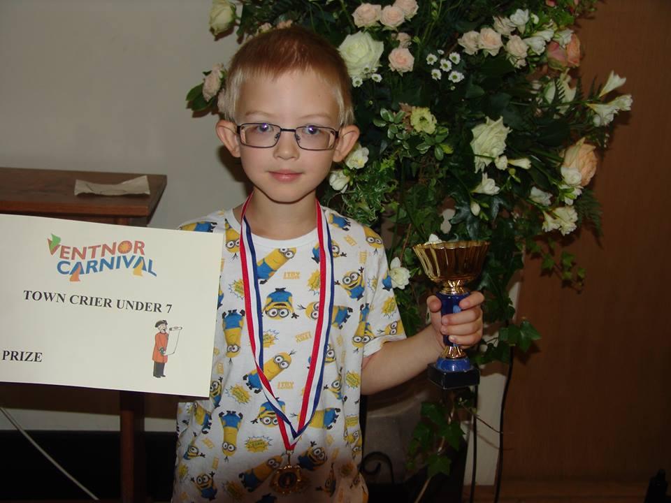 Junior Town Crier 1st place
