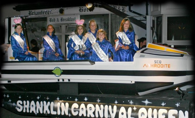Shanklin Carmival Queens