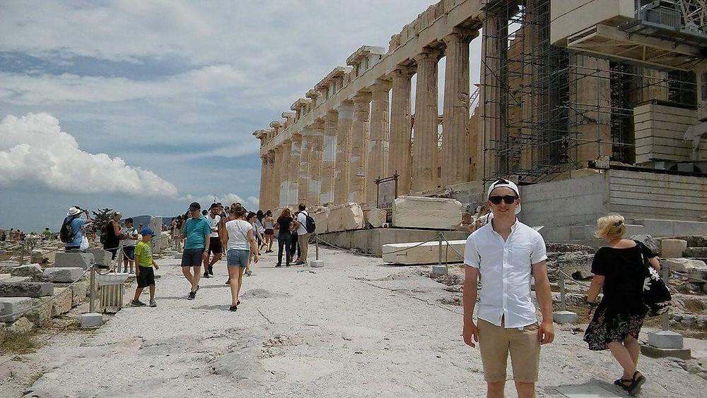 Henry in Greece!