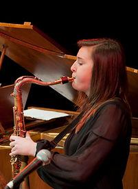 Emma Johnson Saxophonist