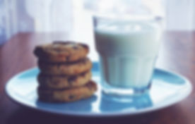 milk-cookies-chocolate-chip-cookies-food