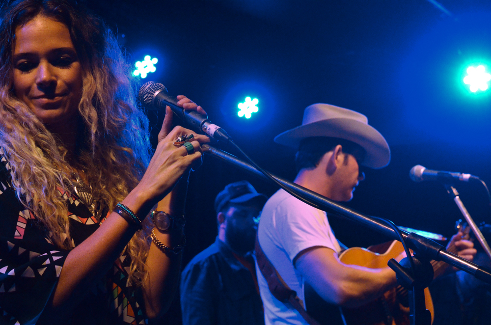 Shelly Colvin with Sam Outlaw