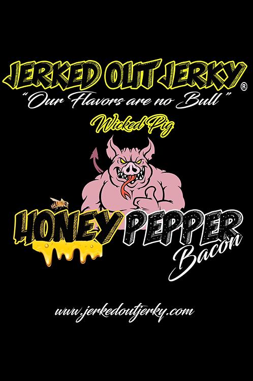 Honey Pepper Bacon Jerky