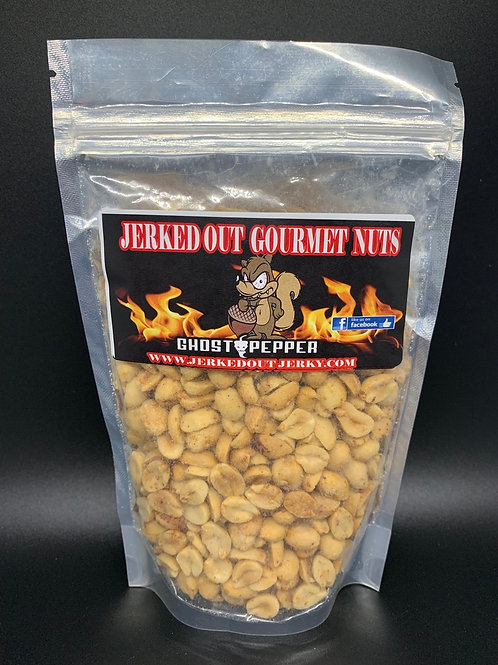 Ghost Pepper Peanuts