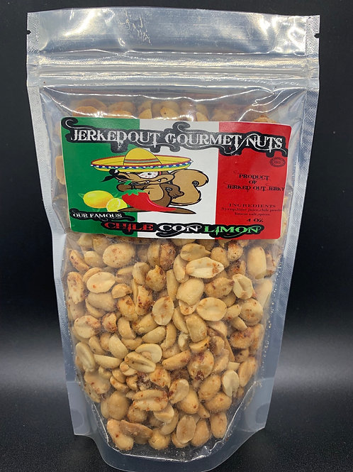 Chile with Lime Peanuts