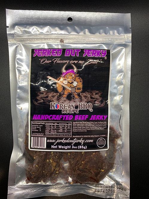 Korean BBQ Beef Jerky