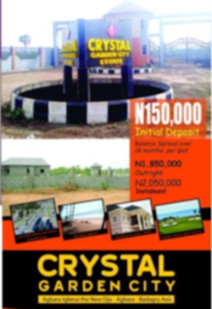 Land in lagos, agbara, nigeria