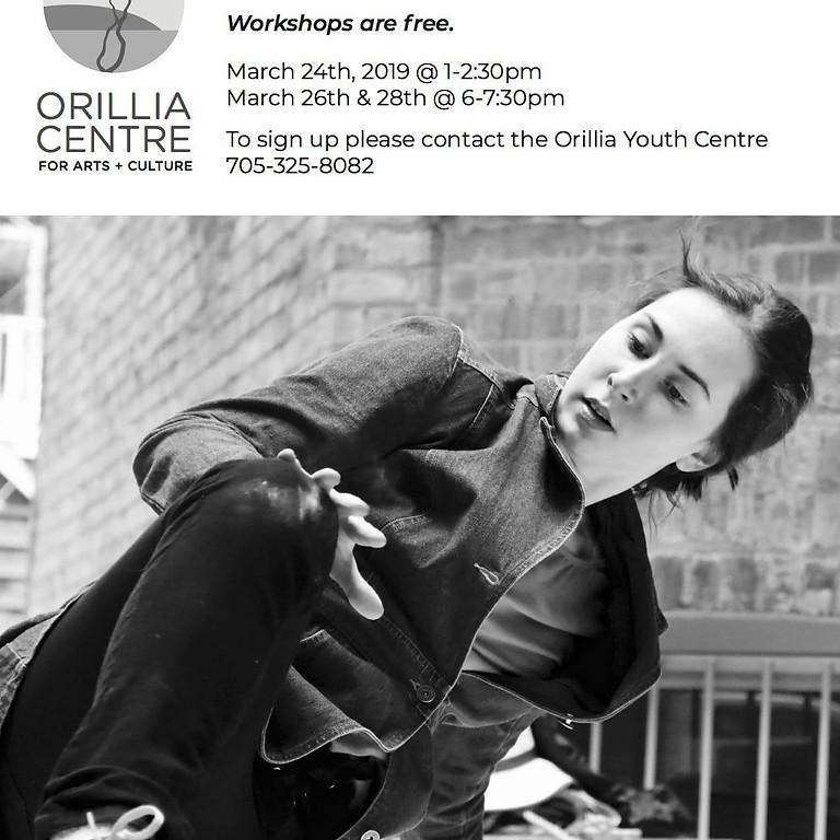 Tessa Kuz: Urban Dance Workshop