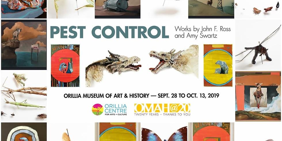 Amy Swartz & John F. Ross: Pest Control