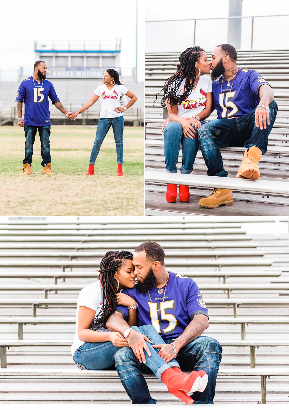 Virginia Beach Sporty Engagement Session