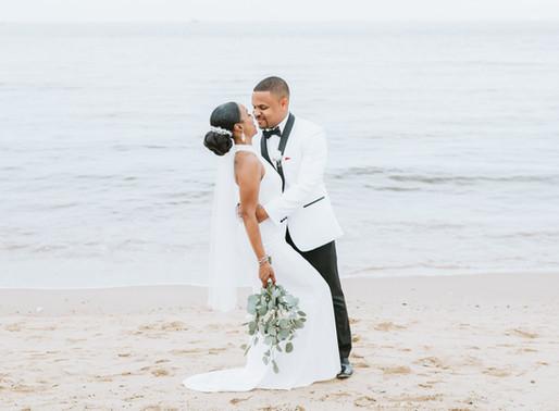 Norfolk, VA  Oceanview Wedding   Tai + Aaron
