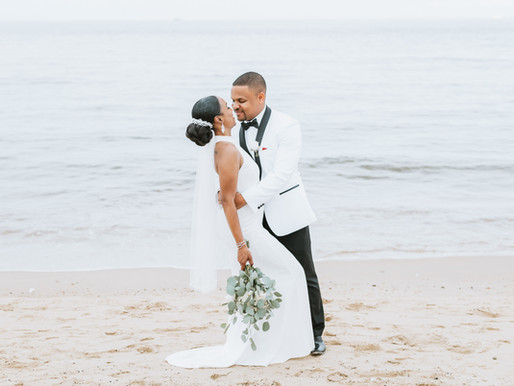 Norfolk, VA  Oceanview Wedding | Tai + Aaron