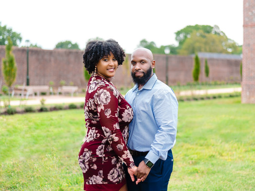 Colonial Williamsburg, VA Engagement Session | Shannon + Tenitris