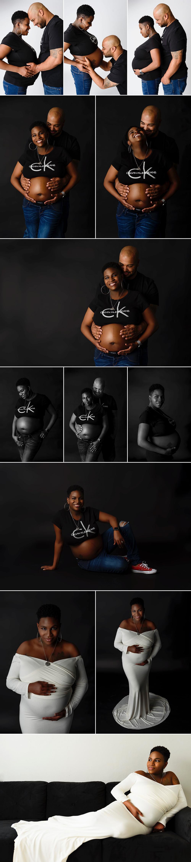 Virginia Beach Maternity Couple Portrait Session