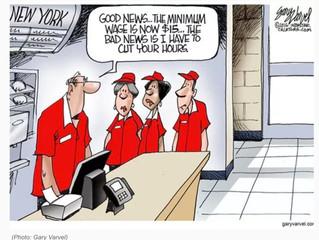 Seattle Minimum Wage Increase Backfires