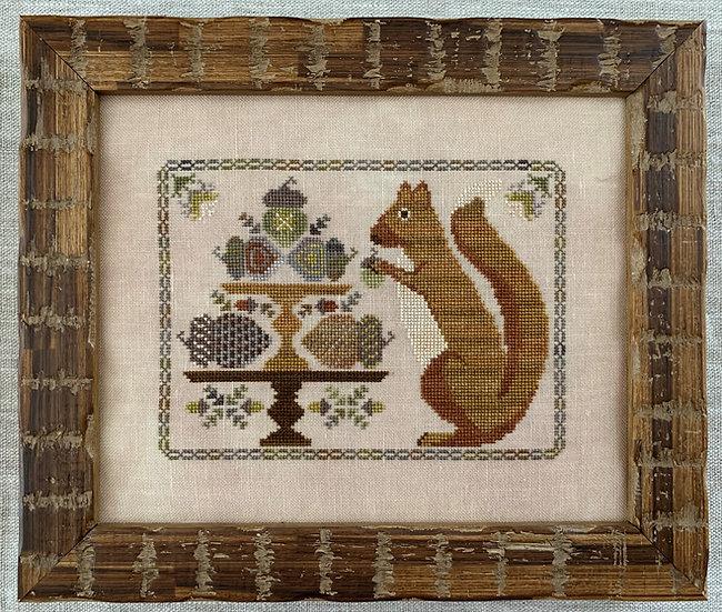 Autumn Squirrel - Digital Download