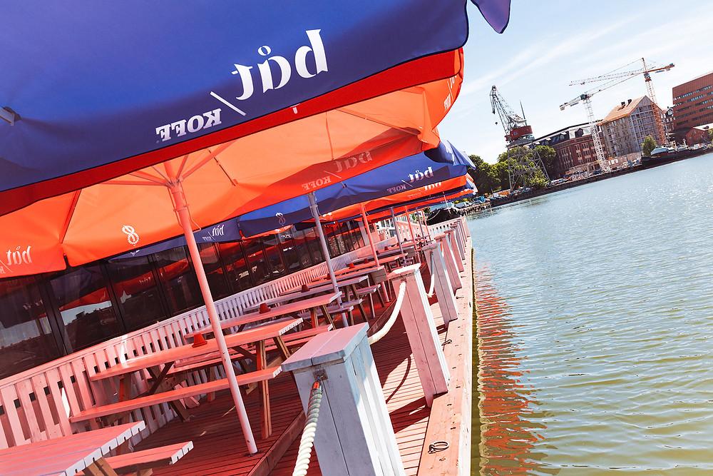 Ravintola Båtin Laituriterassi