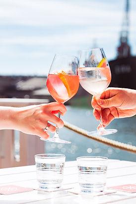 Ravintola Båtin drinkit ovat raikkaita spritzejä.
