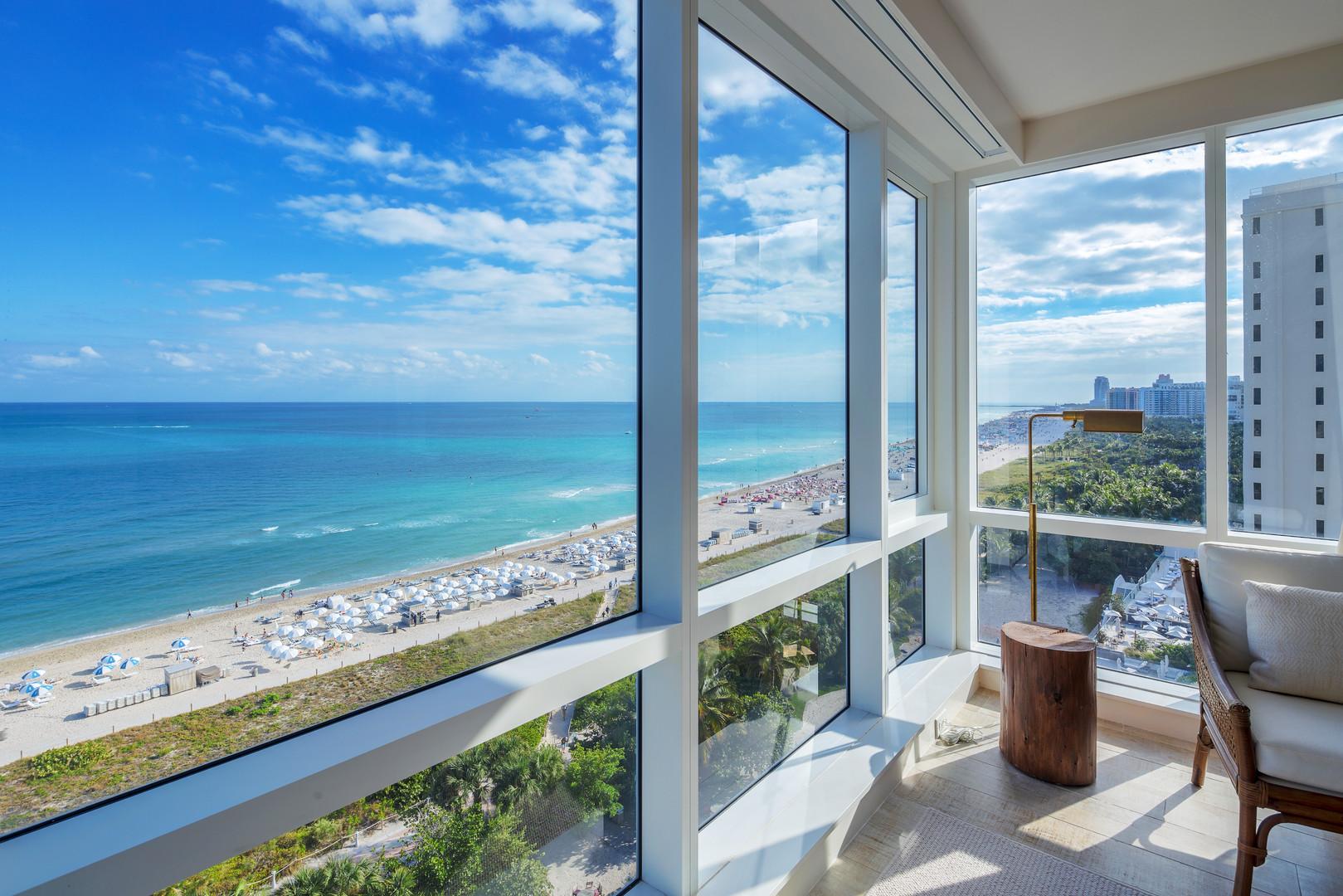 2 Bedroom Direct Ocean Condo at 1 Hotel & Homes South Beach