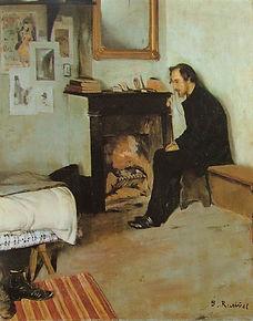 Satie Logis, Santiago, Rusinol, 1891