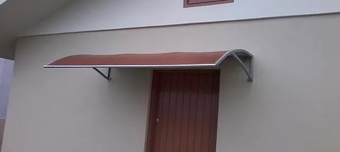Toldo para porta