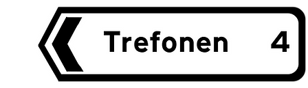 Trefonen sign.png
