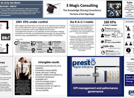 No.62 - ONE PAGE MAGIC: PROTECTION UNIT CASE STUDY