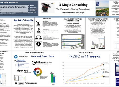 No.46 - ONE PAGE MAGIC: CASE STUDY - UNITED PAPER MILLS CHOSE PRESTO KPI MANAGEMENT SOLUTION