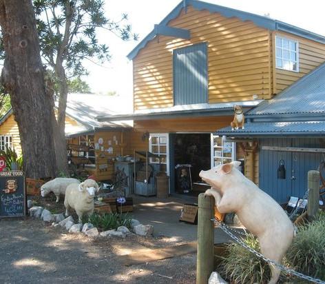 The Barn & Pig