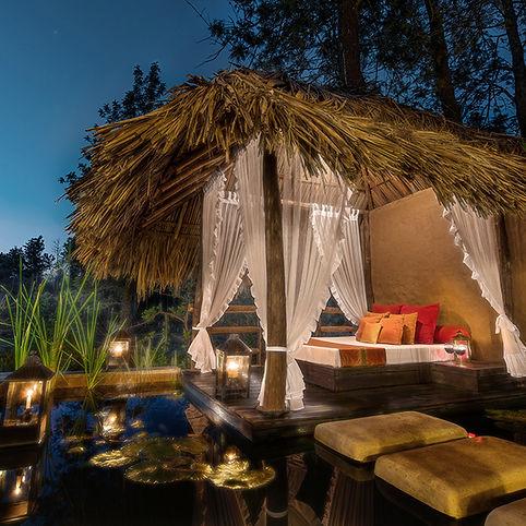 Evolve Back Resorts   Resorts   Lily Pool Villa   Gazebo