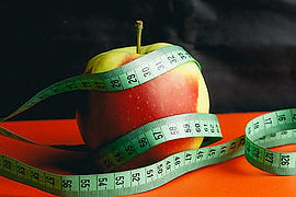 measure fitness with healthy eating