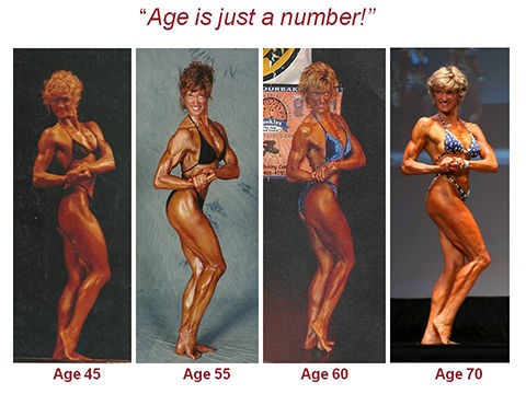 Dianne Cumberland 25 yrs of fitness competitions