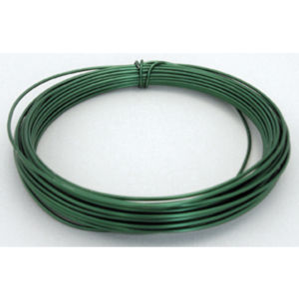 Green and white wire
