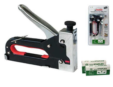 Staple guns and accessories