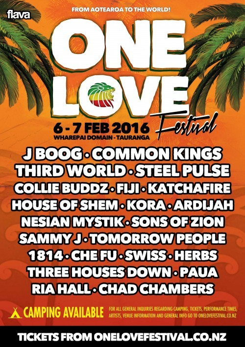 ONE LOVE 2016