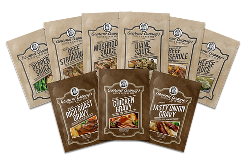 Granny's Sample Pack - 18 Sachets - 2 of each flavour. A great gift idea !