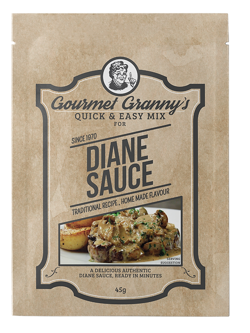 Gourmet Granny's Diane Sauce (12 x 45g)